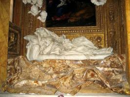 Скульптура Блаженная Лодовика Альбертони (1674 г.)