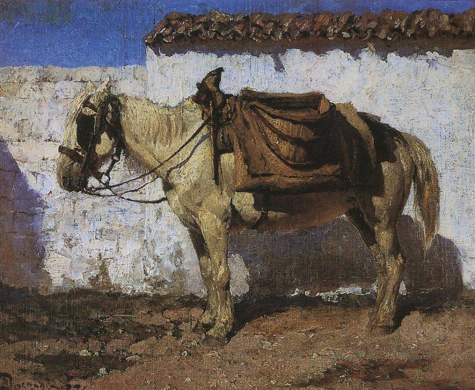 Белая лошадка. Нормандия