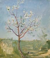 На Курской дуге и дерево цветет (Н.М. Ромадин)