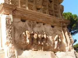 Пленение иудеев (барельеф, Рим)