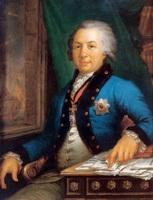 Портрет поэта Г.Р. Державина (В.Л. Боровиковский)