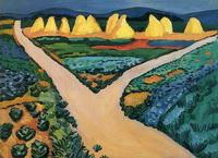 Овощные поля (А. Маке, 1911 г.)