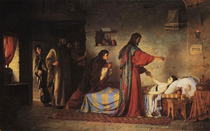 Воскрешение дочери Иаира (Поленов В.Д.)