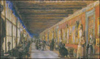 Галерея Уффици (Картина неизвестного художника, XIX в.)