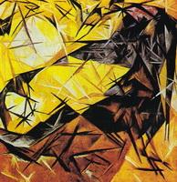 Лучизм (Н. Гончарова, 1912 г.)