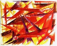 Красный лучизм (М.Ф. Ларионов, 1913 г.)