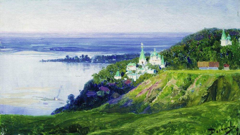Монастырь над рекою