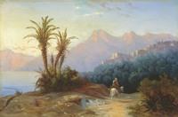 1852. Иванов А.И. Итальянский пейзаж
