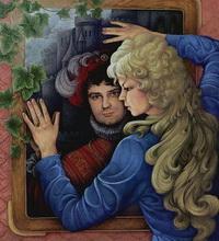 Зеркало (Н. Клименко, гуашь)