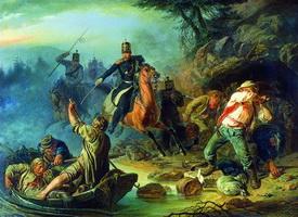 Стычка с финляндскими контрабандистами (В.Г. Худяков)