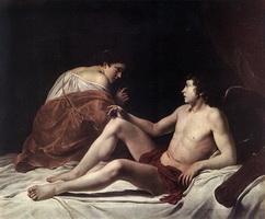 Купидон и Психея (Дж. Оразио)
