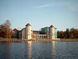 Парк замка Рёйнсберга