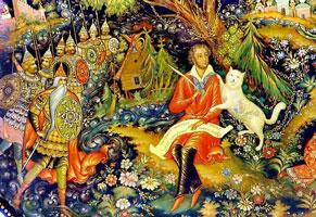 Иллюстрация к сборнику А.С. Пушкина