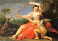 Диана и Купидон (П. Батони, 1761 г.)