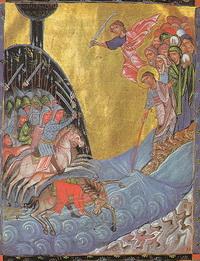 Переход через Чермное море (Т. Рослин)