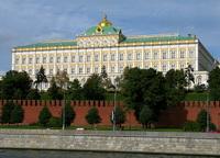 Главный фасад Большого Кремлёвского дворца
