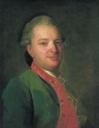 Портрет В.И. Майкова (Ф.С. Рокотов, 1760 г.)