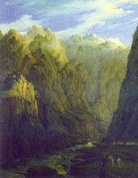 Дарьяльское ущелье (Н.Г. Чернецов)