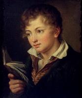Мальчик с книгой (В.А. Тропинин)