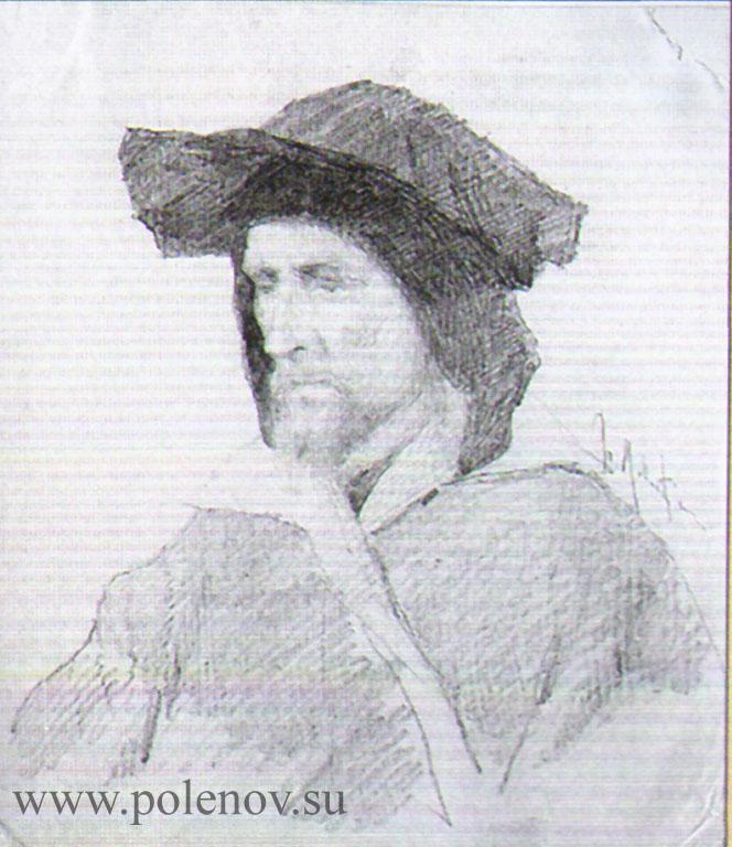 Мужчина в венецианском костюме