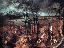 Питер Брейгель Старший, Сумрачный день, 1565