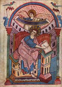 Матфей за созданием евангелия