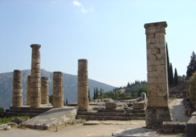 Руины древних Дельф