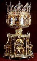 Реликварий, в котором хранится Терновый венец Спасителя