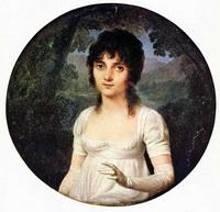 Портрет Кристины Бойе (Ж.Б. Изабе, 19 в.)