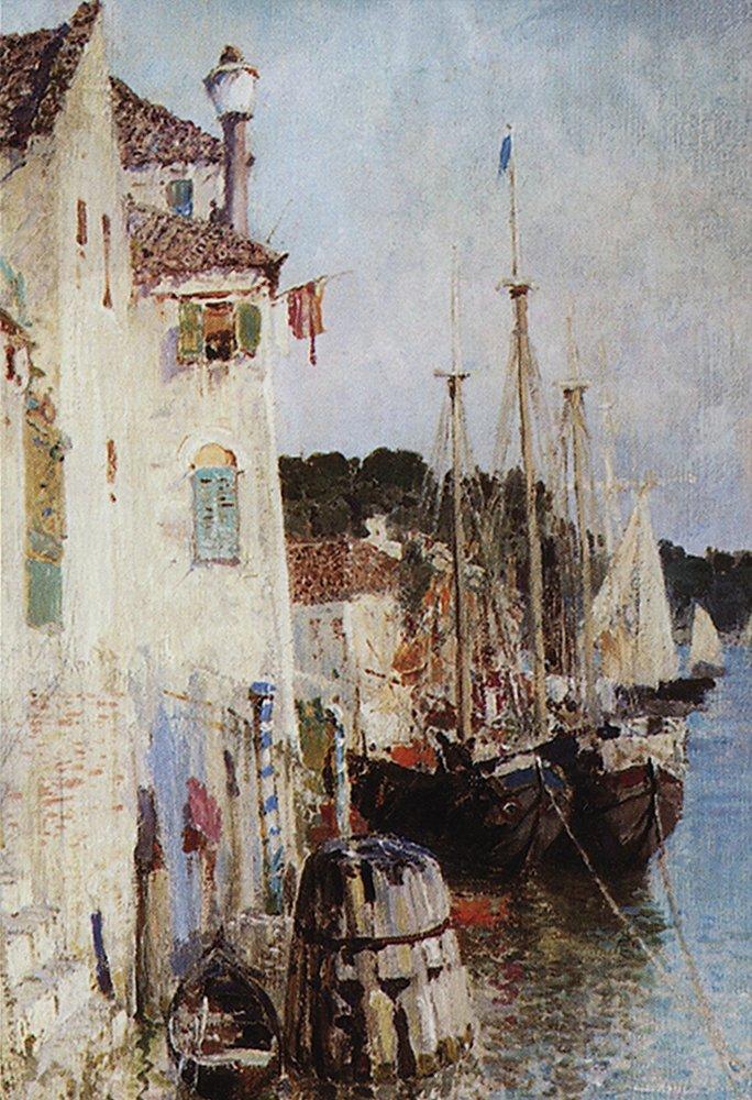 Канал в Венеции. Италия