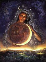 Картина Джозефинны Вэлл - Богиня Луна