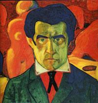 Автопортрет (К.С. Малевич, 1912 г.)