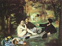 Эдуард Мане. Картина Завтрак на траве