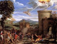 Побиение камнями св. Стефана (Аннибале Карраччи)