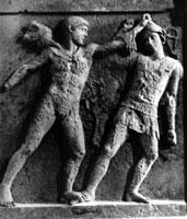 Геракл, борющийся с амазонкой