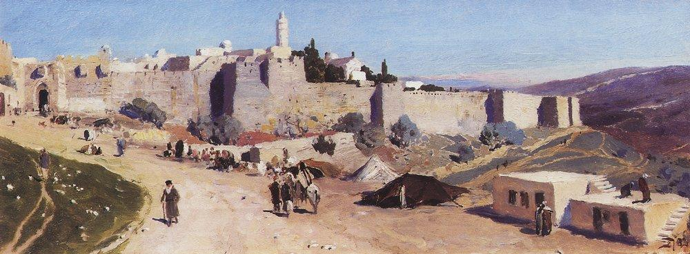 Яффские ворота и цитадель