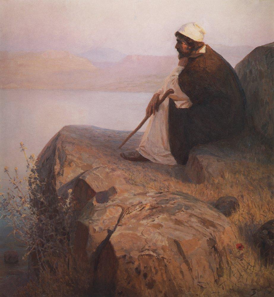 Мечты. Иисус на Генисаретском озере