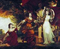 Три грации, украшающие Гименея