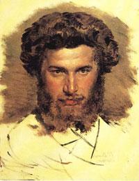 Портрет А.И. Куинджи (В. Васнецов)