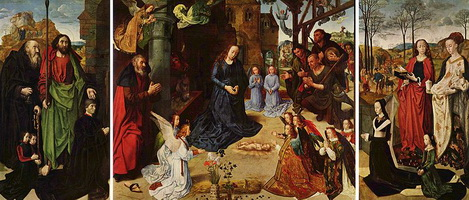 Алтарь Портинари (Гуго ван дер Гус, около 1475 г.)