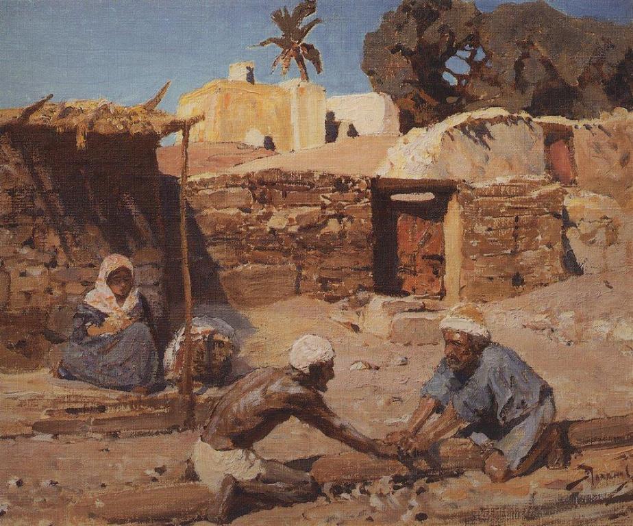 Египет. И там был