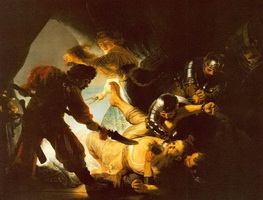 Ослепление Самсона (Рембрандт)