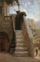 Марфа приняла Его в дом свой. 1890-1900-е