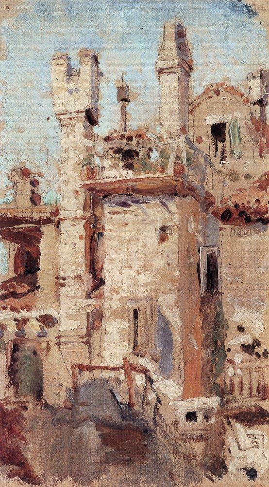 Венеция. Каналы и трубы