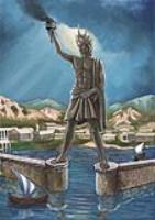 Статуя бога солнца Гелиоса