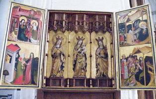 Створчатый алтарь в Любекском кафедральном соборе