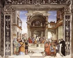 1489-1491, Рим, церковь Санта-Мария-сопра-Минерва