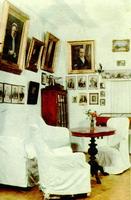 Портретная комната в экспозиции Поленово