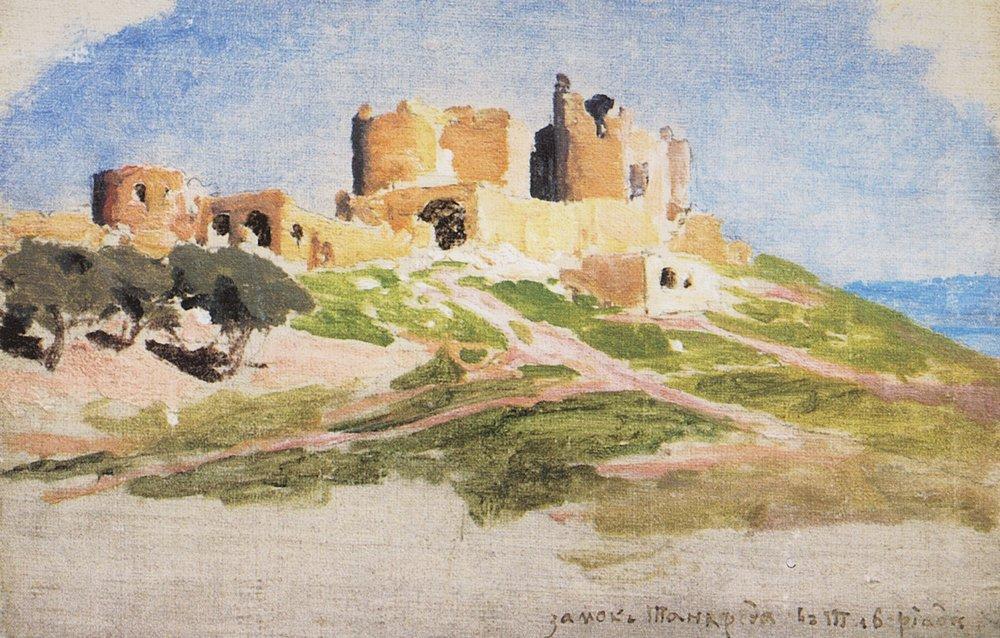 Замок Танкреда в Тивердиаде