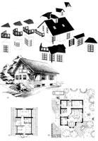 Рабочий чертеж дома